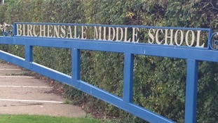 Birchensale Middle School is expected to re-open on Monday