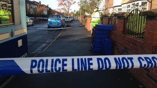 police tape chorlton