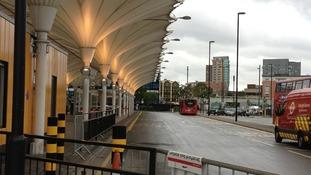 Straford Bus Station.