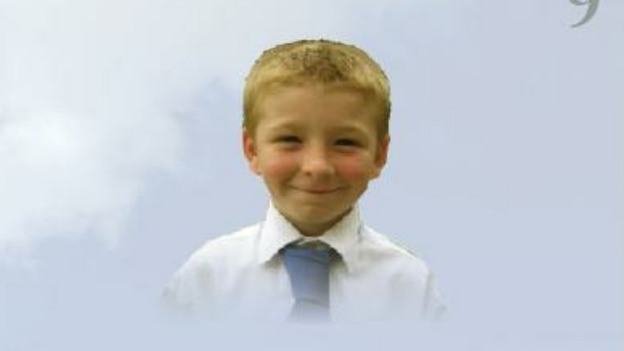 John Simon David Philpott, 9, who was killed in a house fire in Derby.