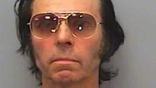 Derrel Weaver, the lead singer of Elvis Presley tribute band DW and The Road Rockets, wore tinted aviator sunglasses while in the dock.