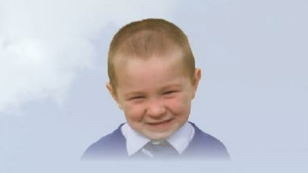 Jesse James Philpott, 6, who was killed in a house fire in Derby.
