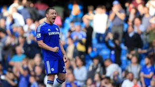 John Terry first captained Chelsea in 2001.