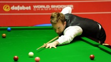 Ali Carter recently finished undergoing chemotherapy for lung cancer.