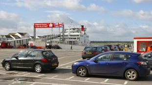 Festivalgoers, commuters and holidaymakers cue in Southampton.