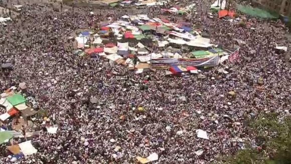 Tahrir Square today