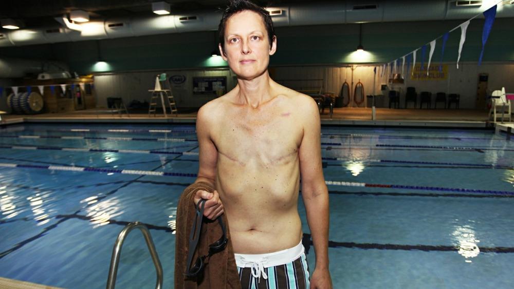 Breast Cancer Survivor Wins Right To Swim Topless Itv News