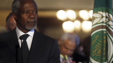 Kofi Annan, UN Arab league special envoy in Syria