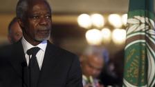 Kofi Annan, UN Arab league special envoy in Syria
