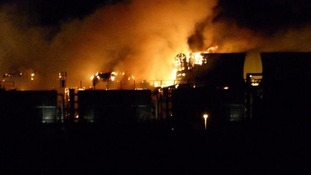 Major fire at Didcot power station