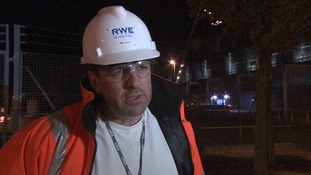 Neil Scott, station manager at Didcot B power plant.