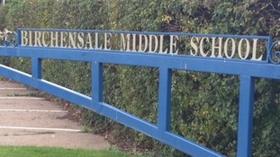 Birchensale Middle School in Redditch