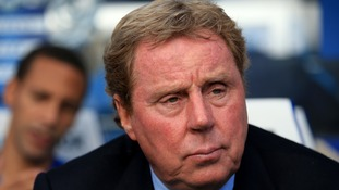 Harry Redknapp's team are bottom of the Premier League.