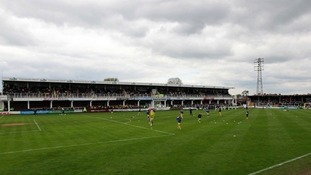 Hereford United's ground