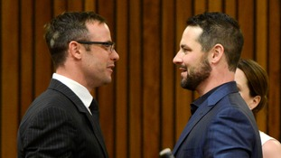 Oscar and Carl Pistorius