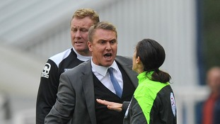 Birmingham part company with manager Lee Clark and assistant Steve Watson