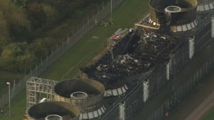 Massive fire breaks out at Didcot power station
