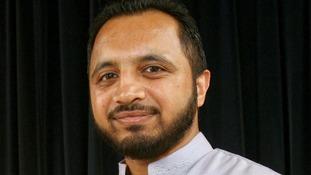Assistant Headteacher Monzoor Hussain at Park View School in July 2008.