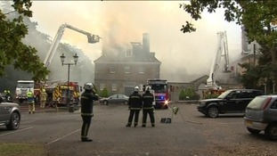 North Yorkshire hotel fire started by.... flies