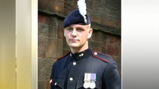 Corporal Michael John Thacker who was killed in Afghanistan on June 1st
