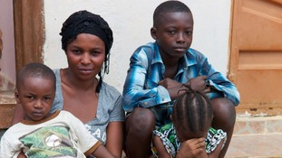 The children's Aunt Zainab also lost her husband to Ebola.