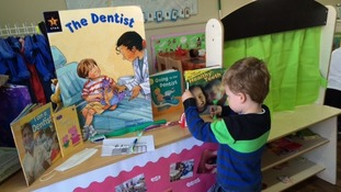 Busy Bees Wellingborough already teach children about teeth.