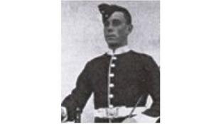 Private William Alfred Singyard died in 1914.