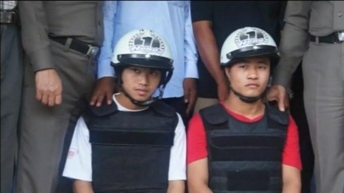 Burmese men