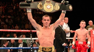 Scott Quigg holds the WBA World Super Bantamweight belt.