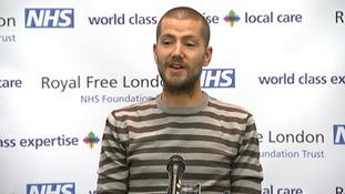 Will Pooley contracted Ebola in August while nursing in a hospital in Freetown.