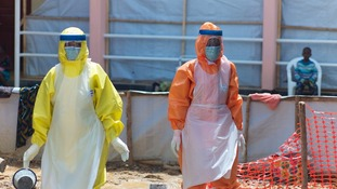 This Ebola treatment centre is the only such facility operating in the whole of western Sierra Leone..