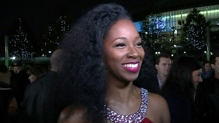 Singer Jamelia has told ITV News Ukip 'are knobs' as she arrived at tonight's Mobo Awards.