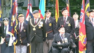 Armed Forces Day celebrations in Birmingham last year