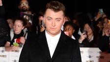 Sam Smith arriving at the Mobo Awards 2014 held at the SSE Arena, Wembley, London