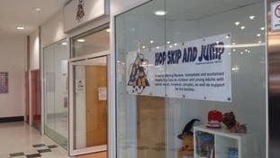 Respite care in Swindon Shopping Centre