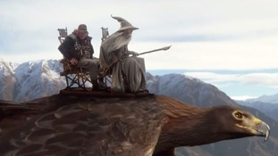 Air New Zealand safety video is set in Middle Earth