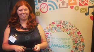 Samantha Rickelton, the North East Blogger of the Year