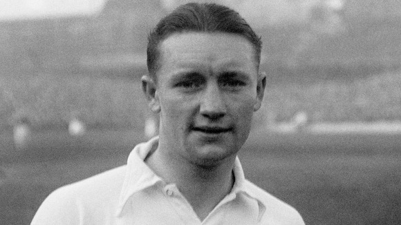 Vivian Woodward pictured in 1937 playing for Fulham