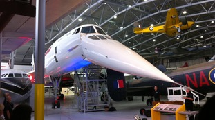 The restored Concorde at Duxford