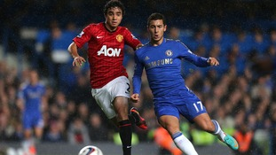Rafael and Eden Hazard
