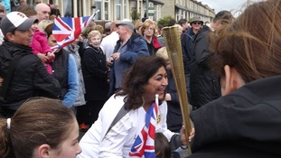 Olympic torch parade