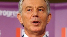 Blair denies saying Miliband can't lead Labour to victory