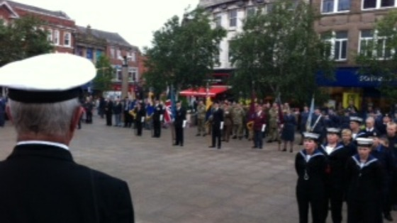 Armed forces day Rotherham