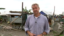 ITV News Presenter Mark Austin reports from Tacloban one year on from Typhoon Haiyan.