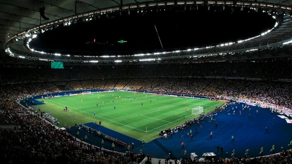 Football stadium Kiev