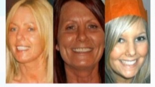Susan McGoldrick, Alison Turnbull, Tanya Turnbull - victims of the Horden shootings