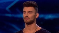 Jake Quickenden lost his X Factor place tonight in the sing-off against Only The Young.
