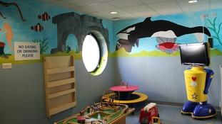 New children's waiting area