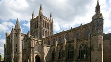 Hereford Cathedral has been awarded a £300,000 grant to go towards restoration works