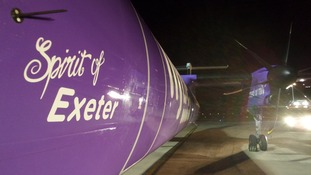 Spirit of Exeter plane